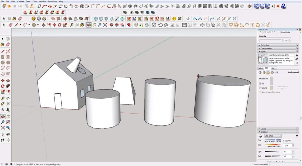 Sketchup for beginners: drawing a  perfect circle