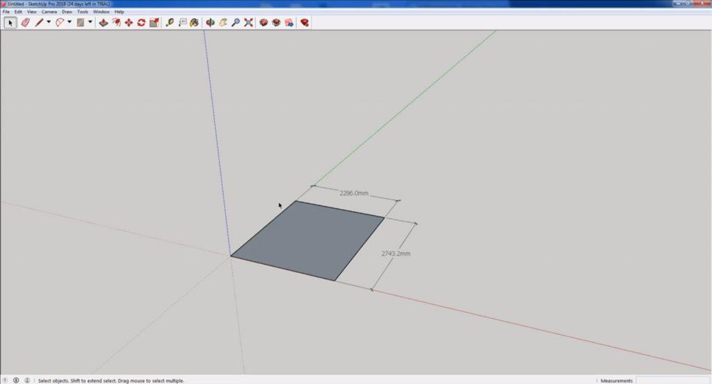 change units in Sketchup finished model