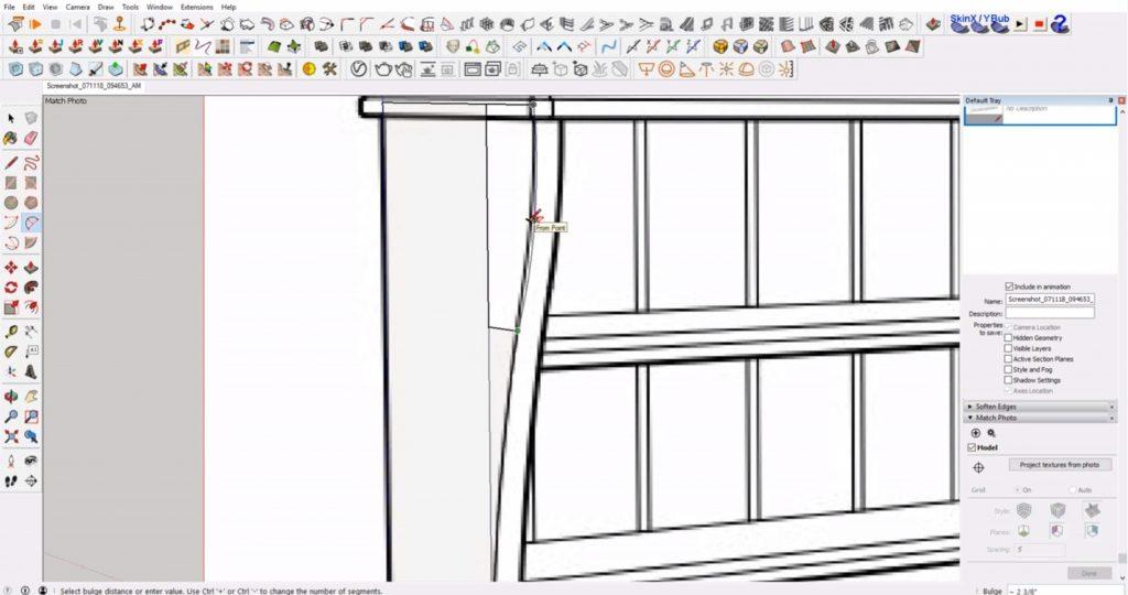 dibujar mueble ikea sketchup