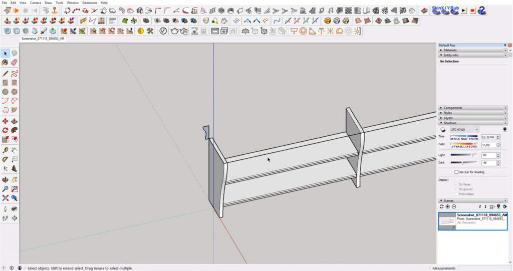 rotar mueble ikea sketchup
