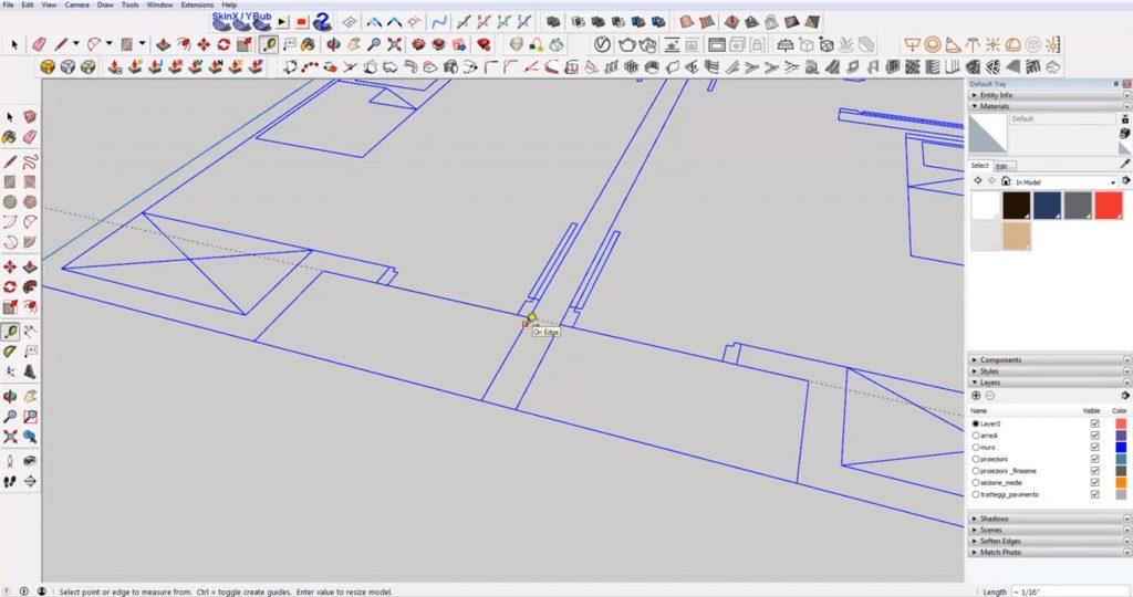 scale DWG to 3D floor plan
